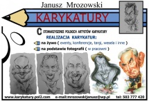 KARYKATURY - JANUSZ MROZOWSKI